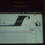 HTML site on blackberry mobile browser