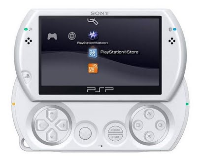 White PSP Go